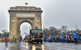 Национальный праздник Румынии, 1-ое декабря 2017 Стоковое Изображение RF