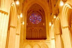 Национальный собор - DC Вашингтона стоковая фотография