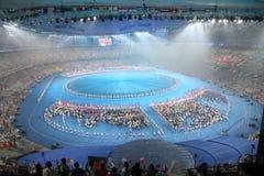 национальный стадион Стоковая Фотография