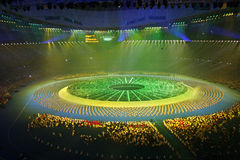 национальный стадион Стоковое Изображение RF