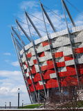 национальный стадион warsaw Польши Стоковые Фотографии RF