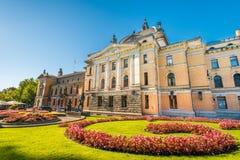 Национальный театр в Осло стоковые фото