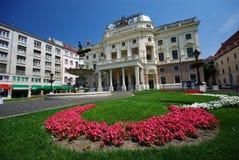 национальный театр slovak стоковые изображения rf