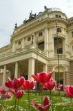 национальный театр slovak стоковая фотография rf