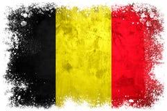Национальный флаг Бельгии Стоковое Изображение RF