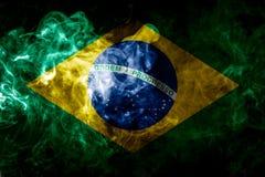 Национальный флаг Бразилии Стоковые Фото