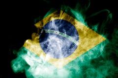 Национальный флаг Бразилии Стоковая Фотография RF