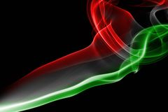 Национальный флаг дыма Венгрии Стоковое Фото