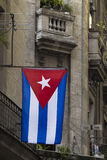 Национальный флаг Кубы Стоковые Изображения RF