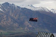 Национальный флаг Новой Зеландии Стоковая Фотография RF