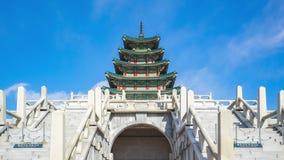 Национальный фольклорный музей во дворце Gyeongbokgung в промежуток времени Сеуле, Южной Корее видеоматериал
