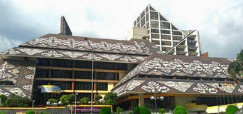 Национальная библиотека Малайзии Стоковые Изображения RF
