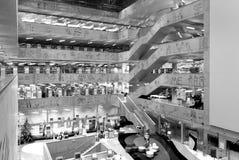 Национальная библиотека технологии Праги, NTK Праги, интерьеров Стоковая Фотография RF