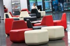Национальная библиотека технологии Праги, NTK Праги, интерьеров Стоковая Фотография