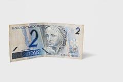 Национальная валюта Бразилии Стоковые Изображения