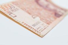Национальная валюта Колумбии Стоковое Изображение RF