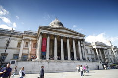 Национальная галерея Великобритании Стоковая Фотография