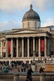 Национальная галерея в Лондоне, Великобритании стоковое фото