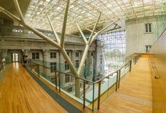 Национальная галерея Сингапур, иконический ориентир ориентир стоковые изображения rf