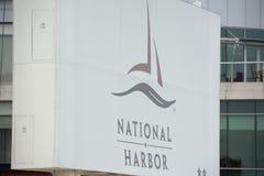 Национальная деталь знака гавани гавани Стоковая Фотография