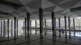 Национальная мечеть Куала-Лумпур Стоковое Изображение RF