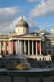 Национальная штольн искусства, квадрата Trafalgar, Лондона стоковое фото rf