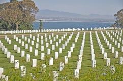 Национальное кладбище Стоковые Фотографии RF