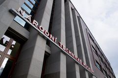 Национальное техническое здание музея в Праге, чехии Стоковая Фотография RF