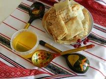 Национально еда хлебопекарни стоковые изображения