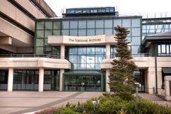 Национальные архивы, Kew, Лондон, Великобритания Стоковые Фотографии RF