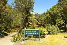 Национальные парки Новой Зеландии Стоковое фото RF