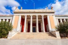 Национальный археологический музей, Афины стоковая фотография