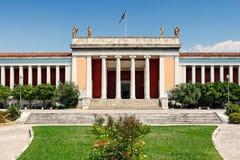 Национальный археологический музей Афин, Греции стоковая фотография rf