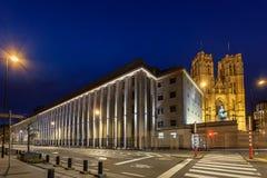 Национальный банк Брюссель Стоковое Изображение