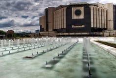 Национальный дворец культуры, Софии, Болгарии стоковое изображение rf