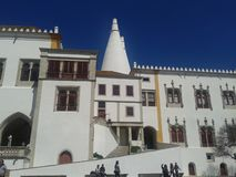 Национальный дворец Sintra Стоковое фото RF