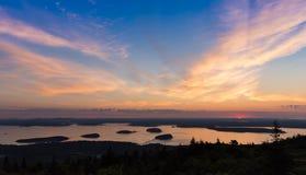 Национальный восход солнца стоковые фото