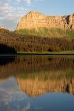 Национальный лес Шошон горной цепи скал брекчии озера ручейк Стоковые Изображения