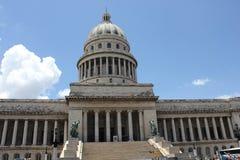 Национальный капитолий Building_Havana Стоковое Изображение