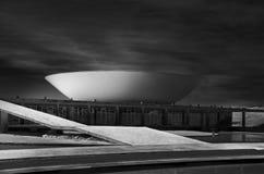 Национальный конгресс Бразилии стоковая фотография rf