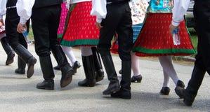 Национальный костюм Стоковая Фотография