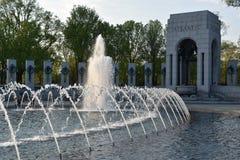 Национальный мемориал Второй Мировой Войны в Вашингтоне, DC Стоковые Изображения RF