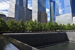 Национальный мемориал 11-ое сентября, Нью-Йорк Стоковое Изображение RF