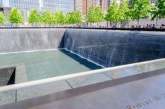 Национальный мемориал 11-ое сентября Стоковое Фото