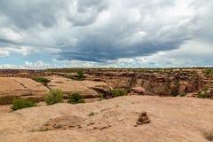 Национальный монумент Каньона De Chelly Стоковое Фото