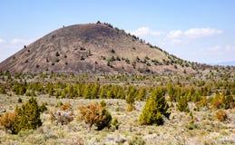 Национальный монумент кроватей лавы стоковое изображение
