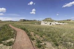 Национальный монумент кроватей агата ископаемый стоковое фото