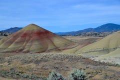 Национальный монумент кроватей дня Джона ископаемый, Орегон стоковое изображение