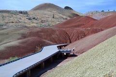 Национальный монумент кроватей дня Джона ископаемый, Орегон стоковое фото