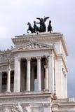 Национальный монумент к Виктору Emmanuel II Рим - Италия Стоковые Фотографии RF